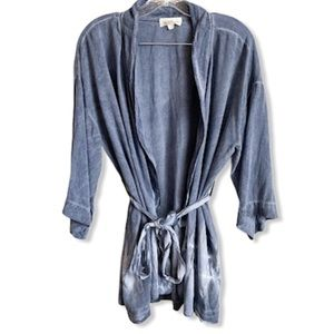 Cloth & Stone Tie Dye Kimono Cardigan